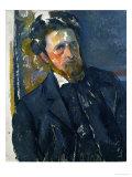 Portrait of Joachim Gasquet Giclee Print by Paul Cézanne