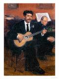 Lorenzo Pagans, circa 1870-1871 Giclee Print by Edgar Degas