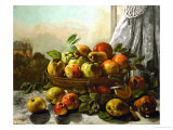 Still Life, Fruit, 1871 Giclee Print by Gustave Courbet