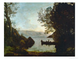 Riva, Italy Giclee Print by Jean-Baptiste-Camille Corot