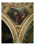 Cicero Accuses Verres, Frescos from the Spandrels of the Main Hall Giclee Print by Eugene Delacroix