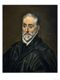 Antonio De Covarrubias Y Leive, Theologian, Canon of the Cathedral of Toledo Giclee Print by  El Greco
