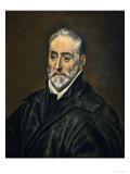 Antonio De Covarrubias Y Leive, Theologian, Canon of the Cathedral of Toledo Lámina giclée por  El Greco