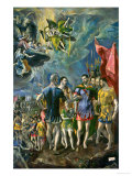 The Martyrdom of Saint Mauritius, 1580-1582 Giclee Print by  El Greco