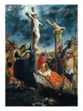 Crucifixion, 1835 Giclee Print by Eugene Delacroix