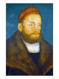 Margrave Casimir Von Brandenburg-Culmbach, 1522 Giclee Print by Lucas Cranach the Elder