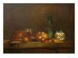 The Bowl with Olives Giclee Print by Jean-Baptiste Simeon Chardin