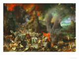 Aeneas and the Sibyl in Hades, 1600 Giclee Print by Jan Brueghel the Elder
