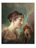Josephine De Beauharnais, Wife of Napoleon Bonaparte Giclee Print by Jacques-Louis David