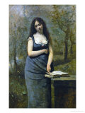 Velleda (Inspired by the Heroine of Martyrs, by Chateaubriand) Giclee Print by Jean-Baptiste-Camille Corot