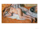 Nude, after the Bath Giclee Print by Edgar Degas