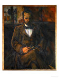 Portrait of Ambroise Vollard, the Art Dealer, Painted 1899 Giclee Print by Paul Cézanne