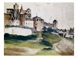 Fortress of Trento, 1495 Giclee Print by Albrecht D&#252;rer