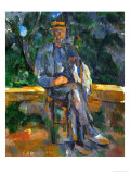 Seated Man, 1905-1906 Reproduction proc&#233;d&#233; gicl&#233;e par Paul C&#233;zanne