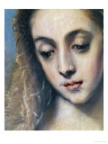 Holy Family with Saint Anne Giclee Print by  El Greco