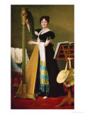 Juliette De Villeneuve, Niece of Queen Julie, Wife of Joseph Bonaparte, 1824 Giclee Print by Jacques-Louis David