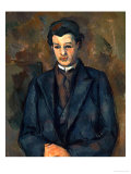 Portrait of the Painter Alfred Hauge, 1899 Giclee Print by Paul Cézanne