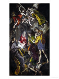 The Adoration of the Shepherds Giclee Print by El Greco 