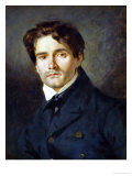 Portrait Leon Riesener Giclee Print by Eugene Delacroix