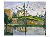 Le Bassin Du Jas De Bouffan, 1878 Reproduction procédé giclée par Paul Cézanne