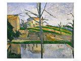 Le Bassin Du Jas De Bouffan, 1878 Giclee Print by Paul Cézanne