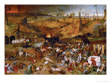 Triumph of Death, circa 1562 Lmina gicle por Pieter Bruegel the Elder
