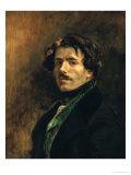 Delacroix, Self-Portrait Giclee Print by Eugene Delacroix