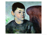 Paul Cezanne, Son of the Artist, 1883-1885 Giclee Print by Paul C&#233;zanne