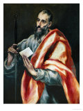 Saint Paul, the Apostle Lámina giclée por  El Greco