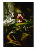 Christ at the Mount of Olives Giclee Print by  El Greco