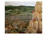 The Tower of Babel, Detail Giclee Print by Pieter Bruegel the Elder