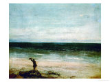 Seaside at Palavas, 1854 Giclee Print by Gustave Courbet