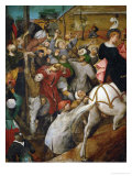 Saint Martin's Day, Fragment Giclee Print by Pieter Bruegel the Elder