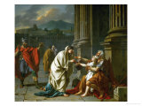 Belisarius Begging for Alms Giclee Print by Jacques-Louis David