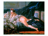 Odalisque, for the Version in the Louvre Giclee Print by Francois Boucher