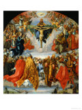 The Adoration of the Trinity Giclee Print by Albrecht Dürer