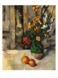 Vase and Apples Giclee Print by Paul Cézanne