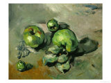 Green Apples, Around 1873 Giclee Print by Paul Cézanne