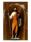 Saint James, Apostle and Pilgrim Wydruk giclee autor El Greco