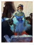 A Ballet Dancer in Her Dressing Room Giclee Print by Edgar Degas