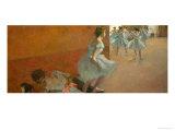 Dancers Climbing a Staircase, circa 1886-1888 Giclee Print by Edgar Degas