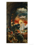 Resurrection, from the Predella of the Altar in the Monastery of Saint Florian, 1518 Giclee Print by Albrecht Altdorfer