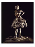 Dancer, Dressed and at Rest, Bronze Giclee Print by Edgar Degas