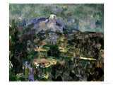 The Mont Sainte-Victoire, 1905 Giclee Print by Paul C&#233;zanne