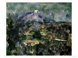 The Mont Sainte-Victoire, 1905 Giclee Print by Paul Cézanne