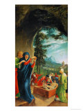 The Entombment, from the Predella of the Altar in St. Florian, circa 1515 Giclee Print by Albrecht Altdorfer