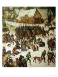 Massacre of the Innocents, Detail, 1565 Giclee Print by Pieter Bruegel the Elder
