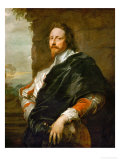 Nicholas Lanier (1588-1665) Reproduction proc&#233;d&#233; gicl&#233;e par Sir Anthony Van Dyck