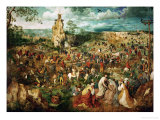 Jesus Carrying the Cross, or the Way to Calvary, 1564 Giclee Print by Pieter Bruegel the Elder