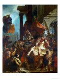 Emperor Trajan's Justice, 1840 Giclee Print by Eugene Delacroix